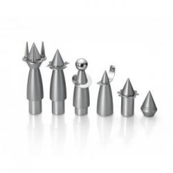 Rocket Chess Set, a Chess Game with a modern design by Laura Cowan